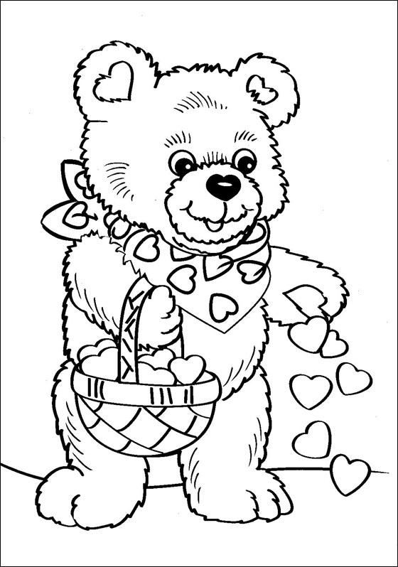 ausmalbilder malvorlagen von teddy kostenlos zum