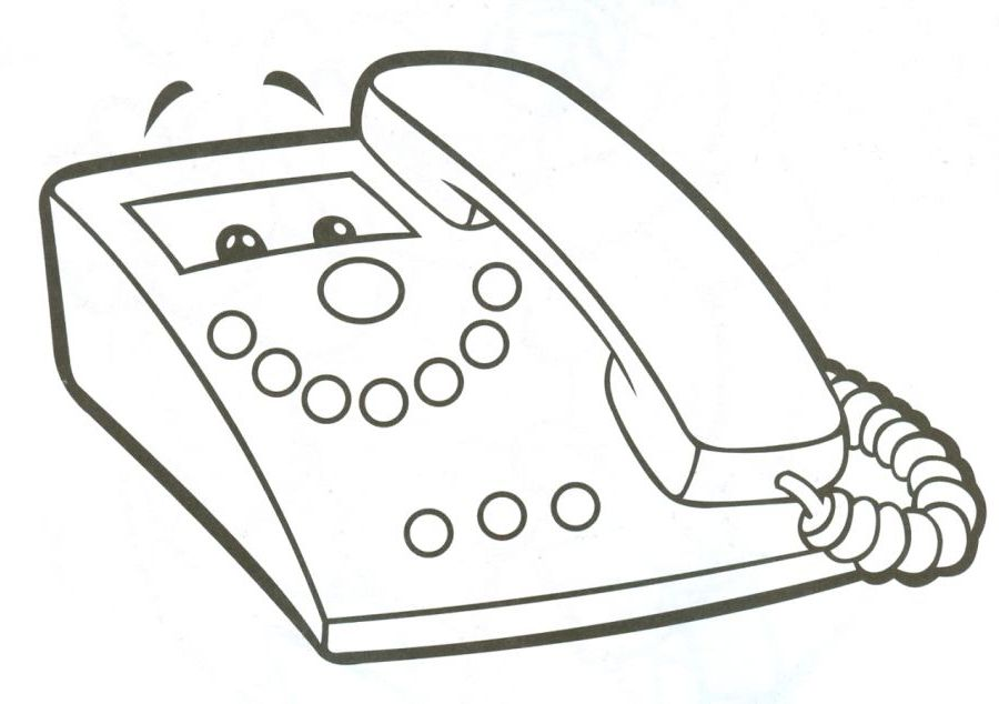 ausmalbilder malvorlagen telefon kostenlos zum ausdrucken m rchen aus aller welt der. Black Bedroom Furniture Sets. Home Design Ideas