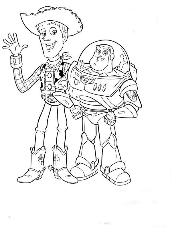Ausmalbilder Malvorlagen Von Toy Story Kostenlos Zum Ausdrucken
