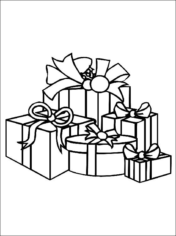 ausmalbilder malvorlagen weihnachtsgeschenke kostenlos. Black Bedroom Furniture Sets. Home Design Ideas