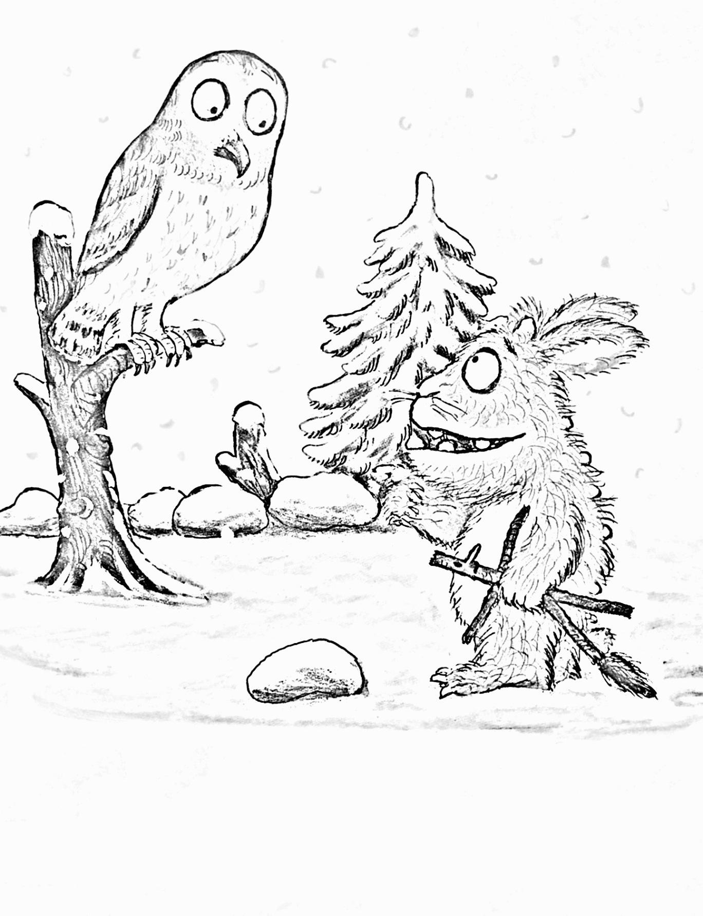 von grüffelokind kostenlos zum ausdrucken  märchen aus